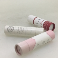 China Moisture Proof CMYK Cylinder Paper Jars For Cosmetic Bottle Packaging on sale