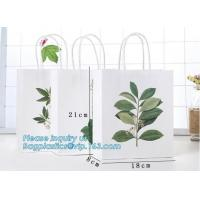 China Wholesale Cheap Custom High Quality Fashion Luxury Eco-friendly Rope Handles Wedding Candle Packaging Paper Bags With Lo on sale
