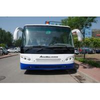 Customized 51 Passenger Airport Apron Bus , Small Turning Radius Airport Coach