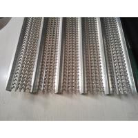 China 2200mm High Ribbed Formwork , 450mm Width Hot Dipped Galvanized Hy Rib Sheet on sale