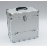 Buy cheap Aluminum LP case silver 12'' vinyl record case for DVD storage box from wholesalers