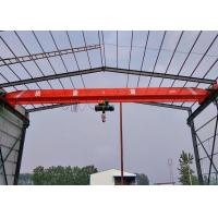 China Single Girder Electric Overhead Crane Indoor Lifting Equipment Compact Structure Design on sale