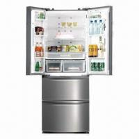 China French Door Side-by-side Refrigerator on sale