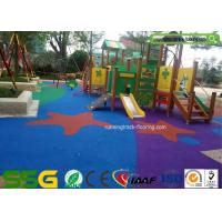 Quality High Flexibility EPDM Rubber Flooring for Playground / Athletic Running Track for sale