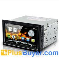 """China Road Cyborg - 6.95"""" Dual OS Car DVD Player (Android 2.3 + WIN CE, 3G + WiFi, GPS) on sale"""