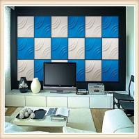 Quality China Supply Modern Design Decorative Interior PVC Board 3D Wall Panels for sale