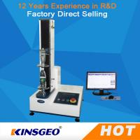 Buy cheap Computer 5KN Leather Testing Machine With High Precise Ball Screw Single Column product