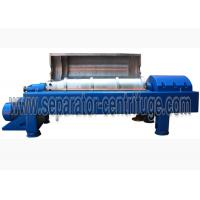 China Full Automatic Decanter Centrifuges Drilling , Oilfield Decanter Centrifuge Solid Drum on sale