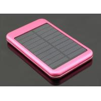 Quality External Solar USB Phone Charger For 5000mah Iphone 4 Mobile Charger for sale