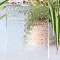 Quality Clear Millenium Pattern Glass for sale
