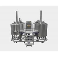 China Steam Heated 10 BBL Brewhouse For Bar , Home Brewing Equipment on sale