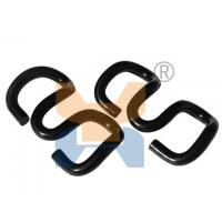China Good quality of Carbon Steel Rail Elastic Clip on fixing sleeper pandrol clip on sale