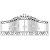 Quality Forged iron gate for sale