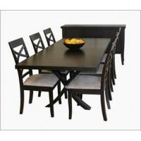 Quality TF-9569 rattan wicker 6chairs dining room furniture set for sale
