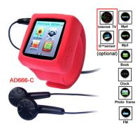 Buy cheap MP4 Player Wrist Watch with Photo Frame and E-book Functions CE ROHS  FCC product
