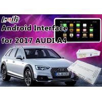 Quality 2017 AUDI A4 Andorid Navigation Multimedia Video Interface with Built-in Mirrorlink , WIFI , Parking Guide Line for sale