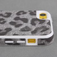 Quality Leopard Print TPU Case For iPhone 5C for sale