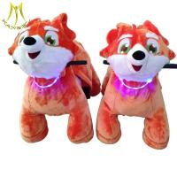 Quality Hansel large size non coin stuffed animal ride electric ride on animal toy for shopping malls for sale