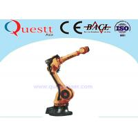 Buy cheap 50kg Wrist Payload Industrial Robotic Arm 3400mm , 6 Axis Industrial Welding Robots from wholesalers