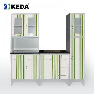 Quality 0.38 CBM Depth 430mm Kitchen Steel Kitchen Cabinet for sale
