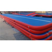 China Doubla Wall Fabric Inflatable Air Track Air Mattress Gymnastics Weather Proof on sale