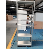 Quality light duty slotted angle iron storage racks for home / office for sale