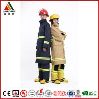 Quality Hi Vis Reflective Safety Flame Resistant Firefighter Uniform for Men's and Women for sale