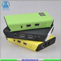 China 2016 new design 10500mAh car multi-function jump starter with LCD display on sale