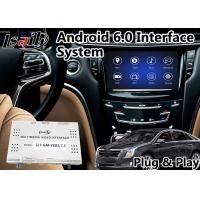 Buy cheap Android 6.0 Auto Video Interface for Cadillac XTS / XTS 2014-2018 with CUE System Waze YouTube GPS-навигаторы from wholesalers