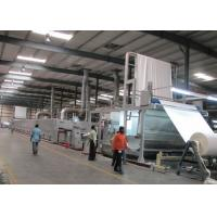Woven Finishing Hot Air Stenter Machine High Automation Optional Dryer