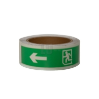 China Photoluminescent Film 1inch or 2inch Glow in the dark tape stickers on sale