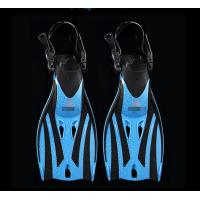 China Junior Open Heel Diving Fins / Kids Snorkeling Scuba Fins Swimming on sale