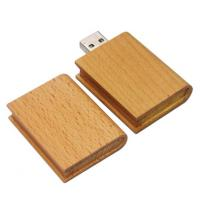 Quality Durable Micro 	Windows 7 Wood USB Flash Drive 16G  32G  64G With Keychain for sale