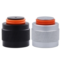 Quality New Aluminum G1/2-14//W21.8//TR21-4 Thread Protector/Saver for HPA/CO2 Paintball Tank Soda Cylinder Regulator Or Valve for sale