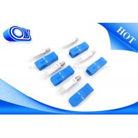 Buy cheap Outdoor  Indoor SC UPC Connectors For Fiber Optic Patch Cord Cable product
