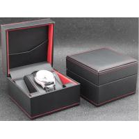 Quality Eco - Friendly Plastic Watch Box PU Leather Outside Waterproof Environmentally Friendly for sale