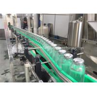 China Rotary Milk Tea / Juice / Coffee Drink Glass Bottle Filling Machine , Glass Bottle Packing Machine on sale