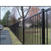 Buy cheap Galvanized Decorative Metal Garden Fencing For Commercial Grounds 1.8m Height from wholesalers