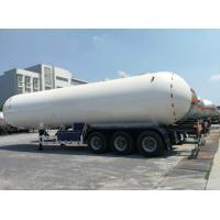 Quality Propane Lpg Road Tanker Durable Spherical Heads And Cylindrical Shell for sale