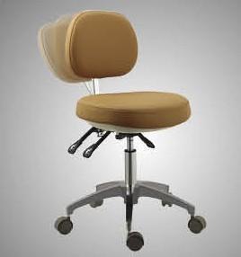 Quality Luxury dental stool doctor's chair nurse' chair assistant stool PU cushion for sale