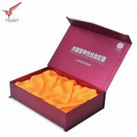 Quality Eco Friendly Wine Packing Boxes Corrugated Wine Boxes With Silk Tray Inside for sale