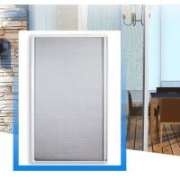 Quality Tear Proof Retractable Roll Up Fly Screen Door Convenient Insect Protection for sale