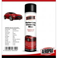 Glossy Finish Car Interior Cleaning ProductsSpray Wax For Cockpit / Dashboard
