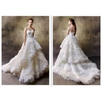 Quality Newest Style Hot Selling White Ball Gown Wedding Dresses For Ladies for sale