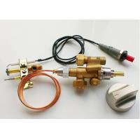 China Thermocouple Gas Safety Valve , Brass Gas Grill Safety Valve With Piezo / Battery on sale