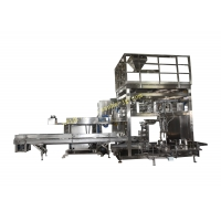 Quality 25kg Weighing Filling Packing Palletizing Line Bagging and Palletizing System for sale