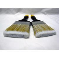 Buy cheap Nylon Flat Paint Brush With Lacquered Wooden Handle / Iron Ferrule product