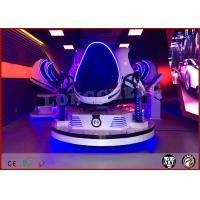 Space Capsure Design 9D VR Cinema With 5 Special Effects For Amusement Park