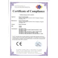 Ocean Controls Limited Certifications