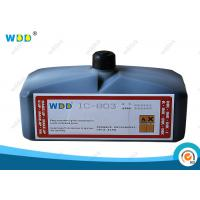 Large Character High Adhesion Industrial Ink Coding Fluid Non Halogen